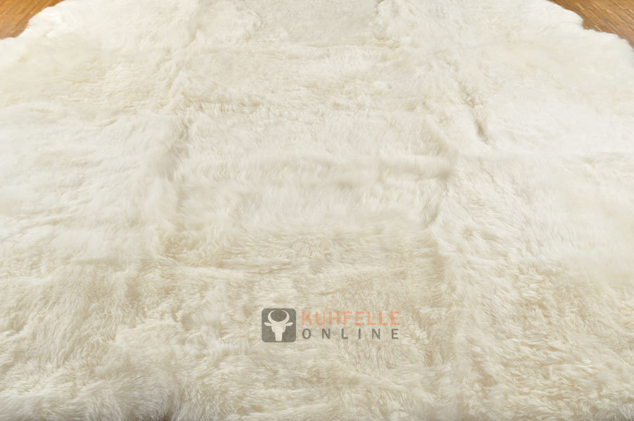 iceland lambskin rug natural white 190 x 180 cm kuhfelle online. Black Bedroom Furniture Sets. Home Design Ideas