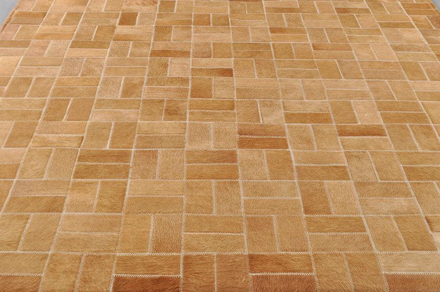 cowhide rug patchwork brown 180 x 120 cm. Black Bedroom Furniture Sets. Home Design Ideas