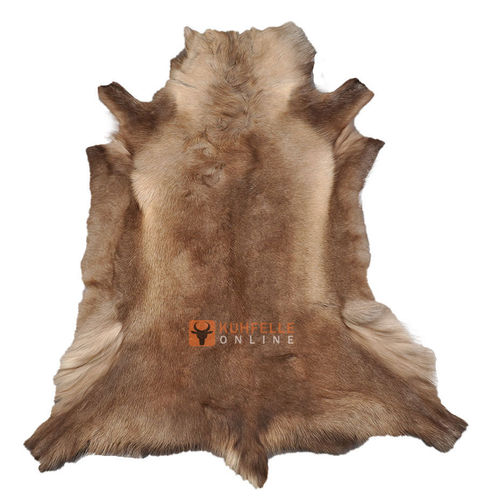 Reindeer Hide brown 110 x 95 cm