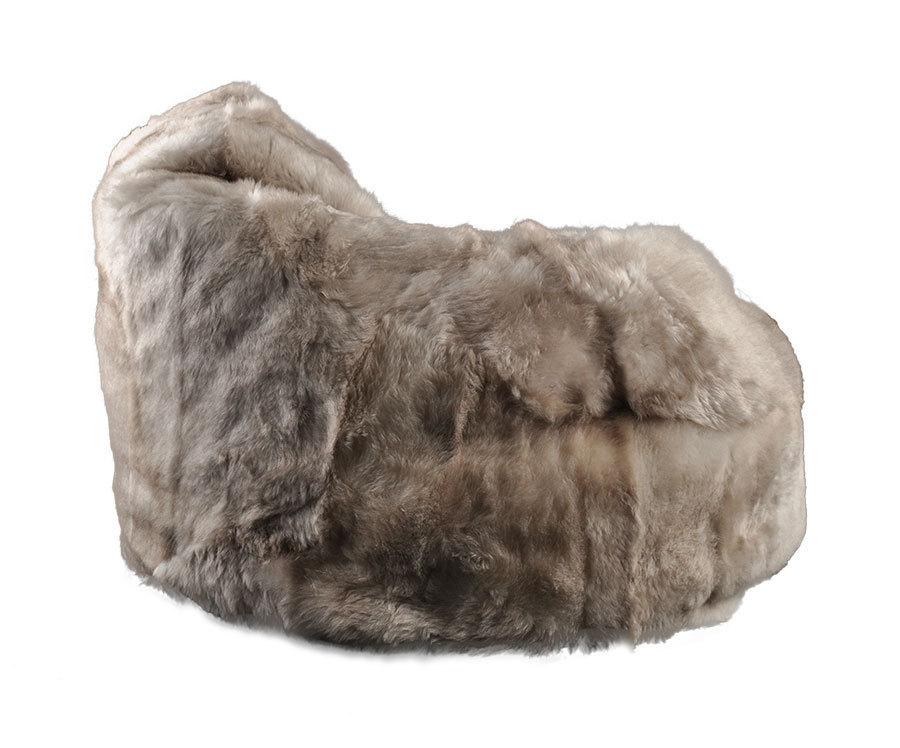 lammfell sitzsack melange kurzwollig kuhfelle online. Black Bedroom Furniture Sets. Home Design Ideas