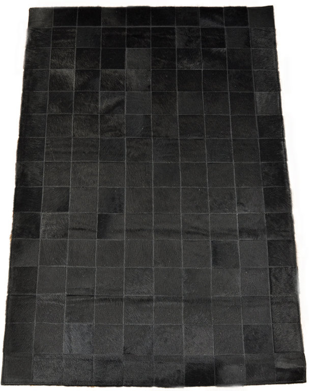 kuhfell teppich schwarz x 100 cm kuhfelle online. Black Bedroom Furniture Sets. Home Design Ideas