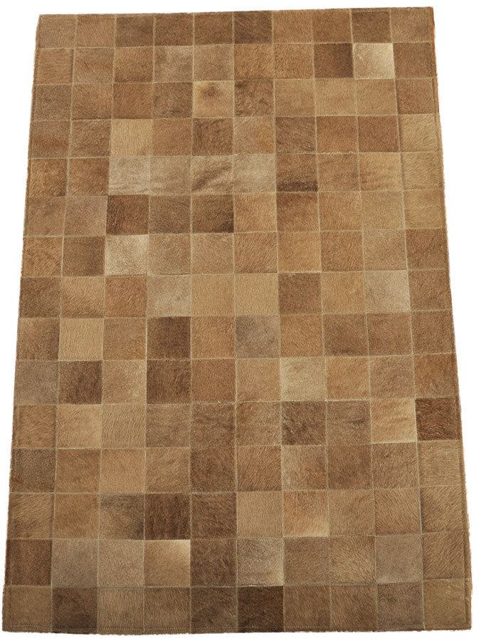 Kuhfell Teppich Grau Braun 150 X 100 Cm Kuhfelle Online