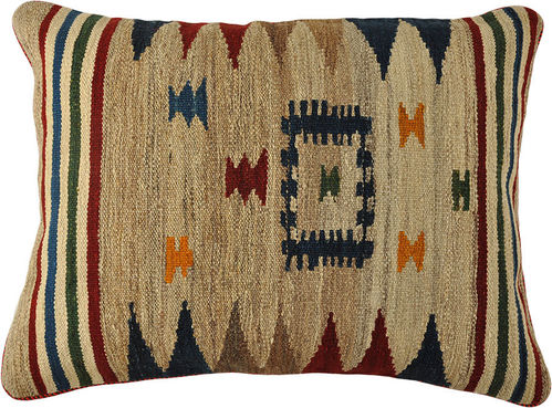 kilim cushion pillow 80 x 60 cm