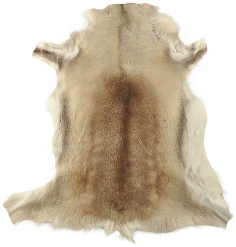 Reindeer Hide brown 125 x 115 cm
