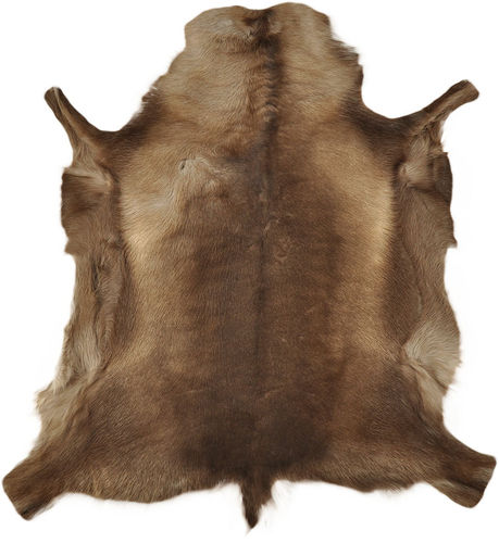 Reindeer Hide brown 100 x 100 cm