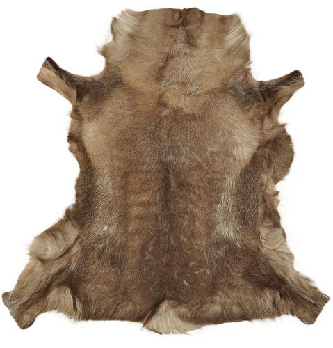 Reindeer Hide brown 115 x 115 cm