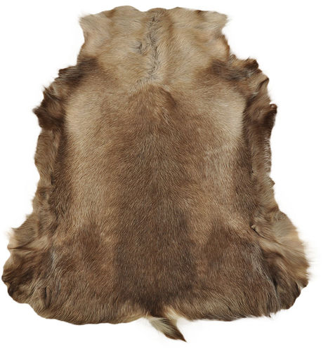 Reindeer Hide brown 120 x 110 cm