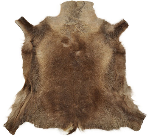 Reindeer Hide brown 110 x 115 cm