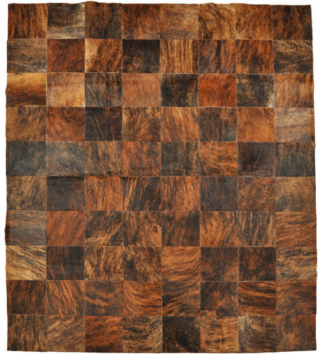 cowhide rug brown 200 x 160 cm