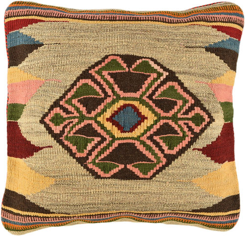 kilim cushion pillow cover 50 x 50 cm
