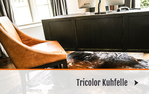 TRICOLOR-KUHFELLE